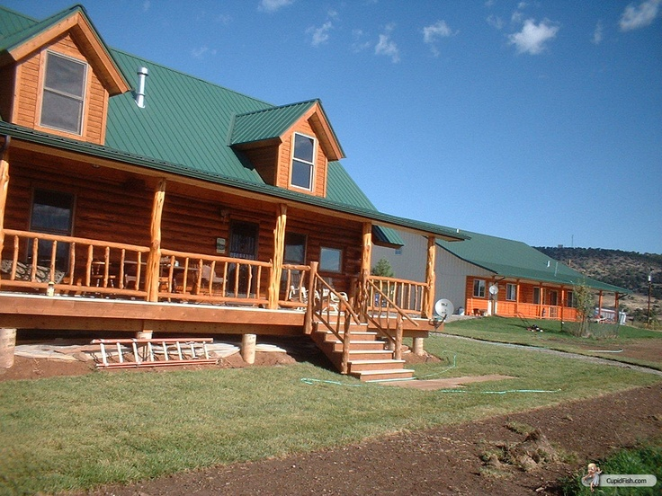 Log Cabin Dream Home Pinterest
