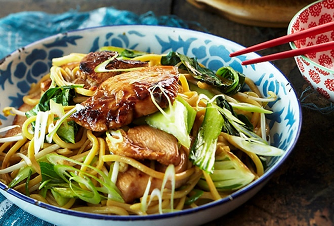Teriyaki Chicken With Soba Noodles | Interesting Recipes | Pinterest