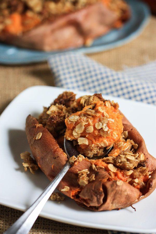 Twice Baked Sweet Potatoes | the main dish | Pinterest