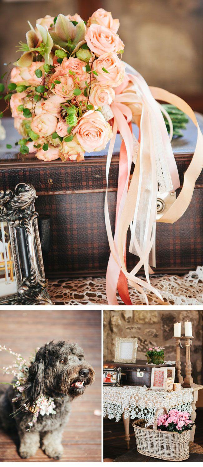 vintage dekoration2-hochzeitsblumen  Hochzeit  Pinterest