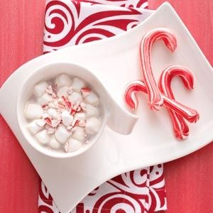 Meringue candy canes recipe from taste of home these minty