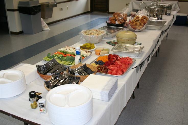 food table | grad party ideas | Pinterest