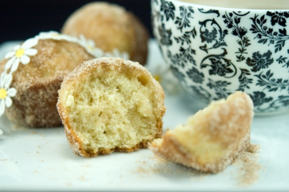 French Breakfast Puffs ~ Used to make these *donuts* for my kids for ...