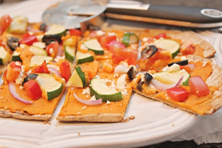 Taste & See: Greek Pita Pizza | EATS | Pinterest