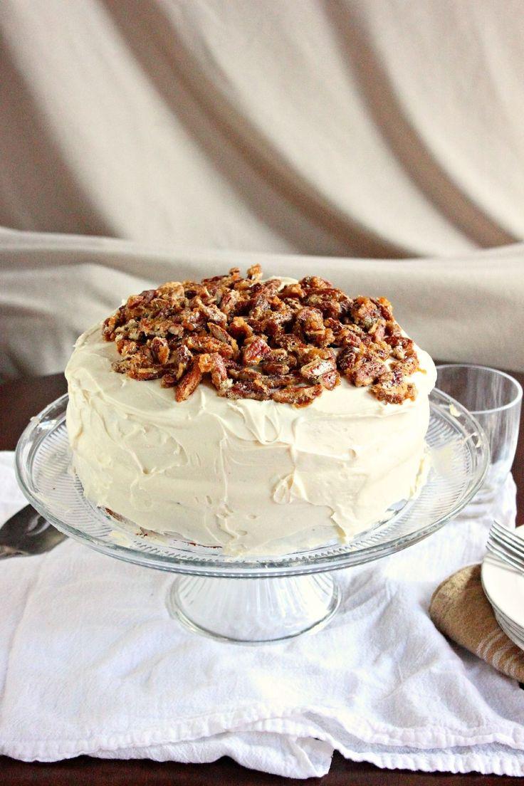 Pecan Praline Cake | Southern Foods & Such | Pinterest