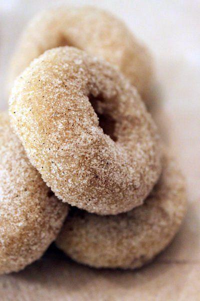 Cardamom Sugar Mini Doughnuts   Food Love   Pinterest