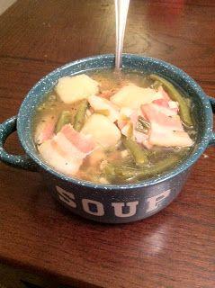 Fresh Vegetable Soup (IC Friendly)   ..Yummy Yummy Foods..   Pinterest