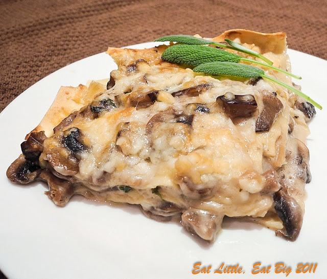 Mushroom Lasagna | Pasta - Lasagna | Pinterest