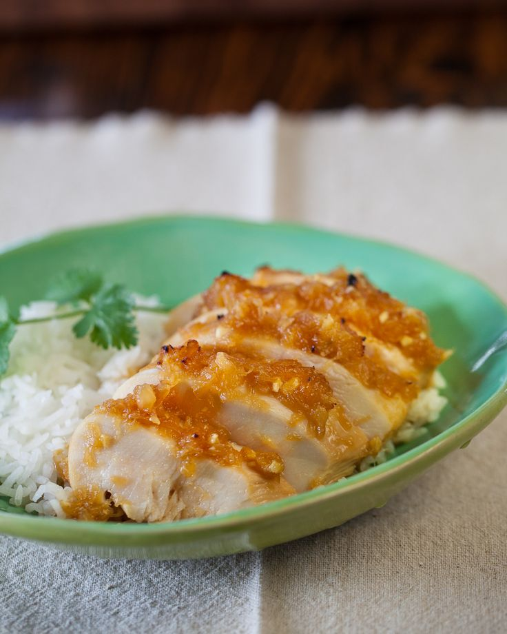 Recipe and Video: Pineapple Chicken Teriyaki - Chicken breast is ...