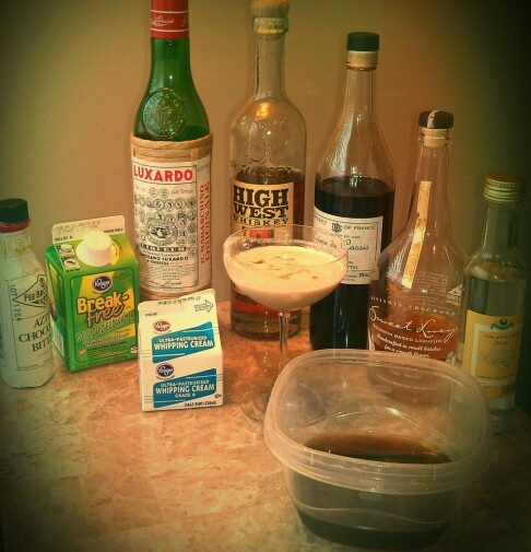 ... White's Cinnamon, Cream, Egg White, Chocolate Bitters, #whiteselixirs