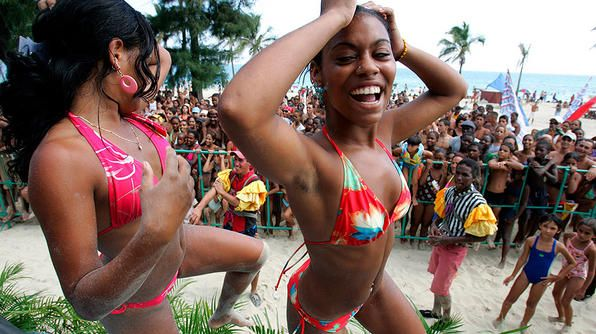 Bikinis With Cuban Flair
