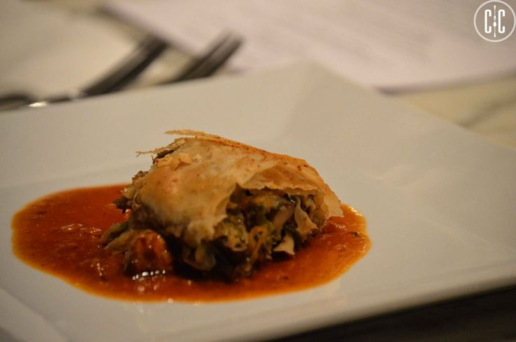 mushroom and leek strudel | Eats & Drinks | Pinterest