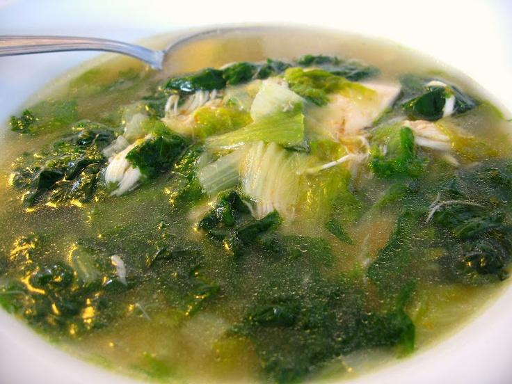Italian Chicken soup via Scordo.com | Soups | Pinterest