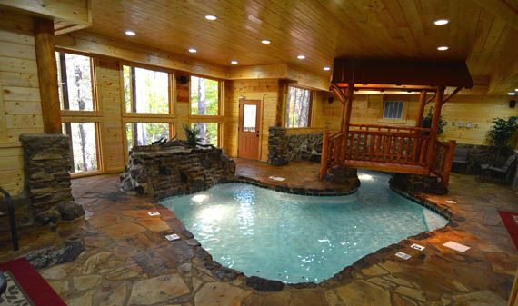Pigeon Forge Cabins Copper River Tennessee Vacation