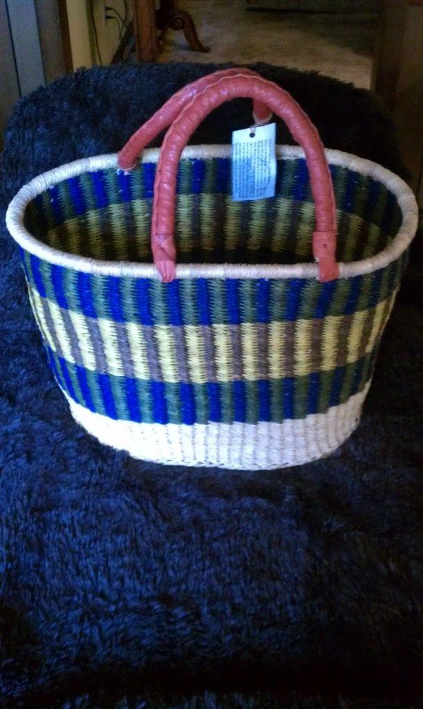 Basket Weaving Ghana : X
