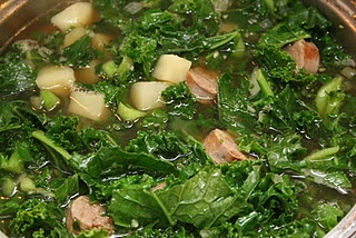 Kale And Potato Soup With Turkey Sausage Recipe — Dishmaps