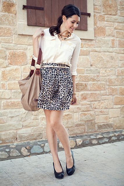 perfect animal print outfit