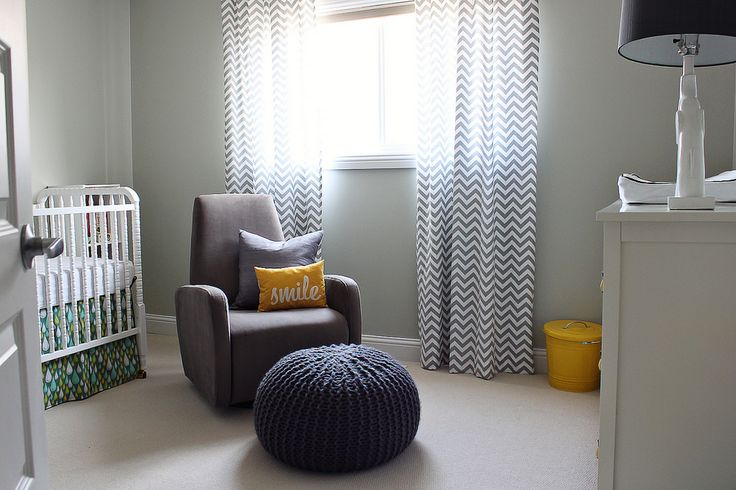Grey and yellow and chevron curtains n is for nest pinterest