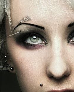 Unique Eyebrow Jewelry Eyebrow Piercing Pinterest
