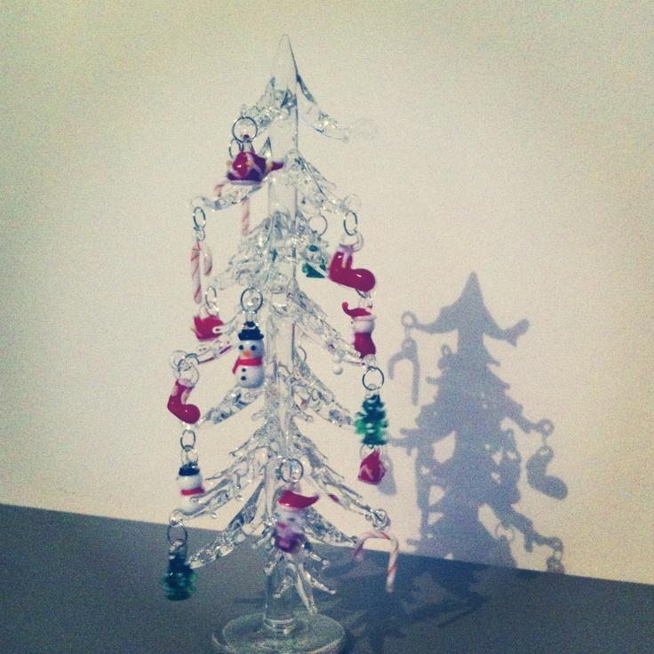 Pin by urma shannon on murano and venitian glass pinterest - Murano glass christmas tree ...