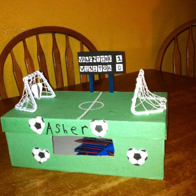 boy valentines day box ideas