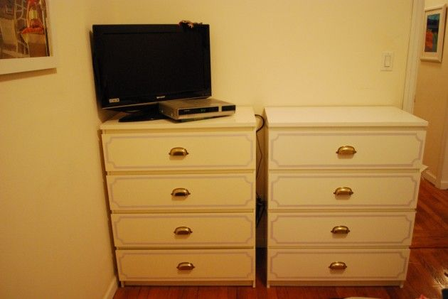 Furniture makeover ikea malm dresser cottage master Ikea furniture makeover