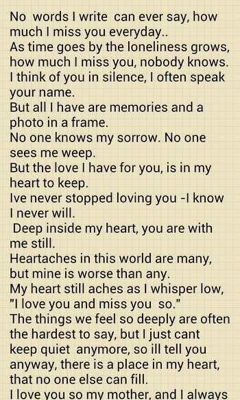 Rip Quotes For A Friends Mom : Rip mom quotes quotesgram