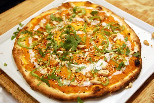 thai carrot pizza | cook me pizza. | Pinterest