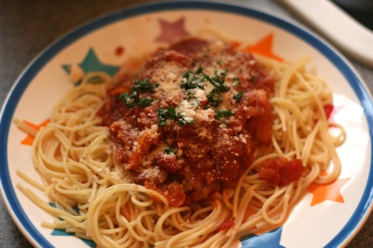 Slow cooker Sunday: Chicken Cacciatore | Slice of Sunny | Pinterest