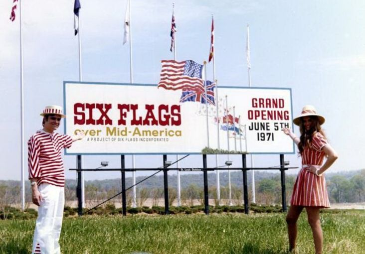 six flags america opening day