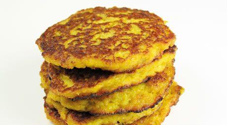 Pumpkin and potato pancakes | Budget eating | Pinterest