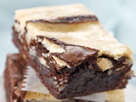 PHILADELPHIA Marble Brownies | Recipe
