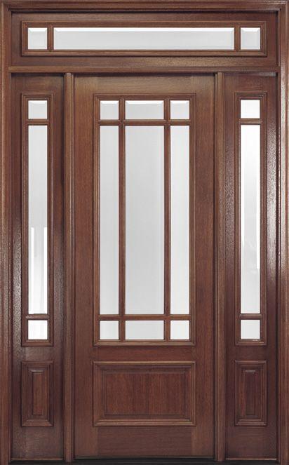 Front Door With Sidelights Customer MB Pinterest