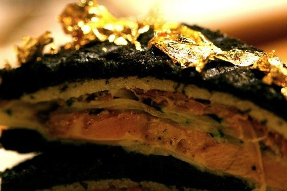 Vegetarian Grilled Zucchini Croque Mademoiselle Recipe ...