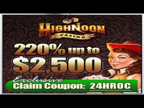 no deposit bonus code high noon casino