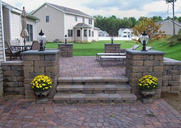 Paver Patio Cost Garden Pinterest