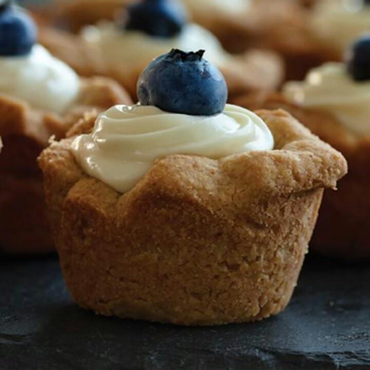 Cheesecake tartlets | Baking | Pinterest