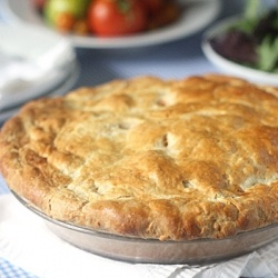 Tomato, Corn and Bacon Pie | Pastries, Meat, Pot Pies | Pinterest