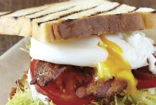 blt amp e with harissa mayo