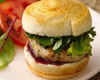 Herb Chicken Sliders with Raspberry Mustard | Recipe