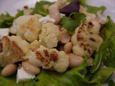 ... Cuisine: Roasted Cauliflower & White Bean Salad; Brown Bag Series #4