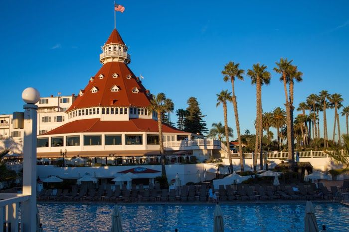 Hotel del coronado san diego places pinterest for Haunted hotel in san diego