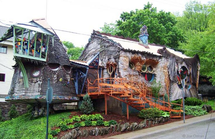 Mushroom House Cincinnati Ohio Incredable homes
