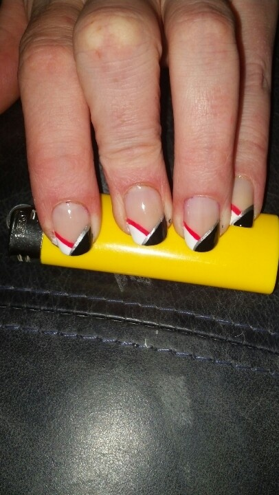 My favorite job interview nail design | My random nail art | Pinterest