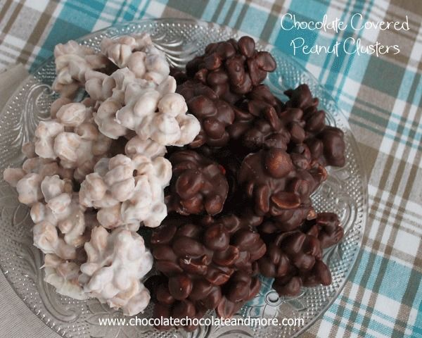 Chocolate Covered Peanut Clusters-the easiest chocolate treat you'll ...