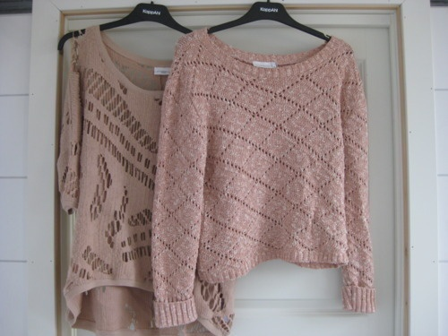 Pastel knits