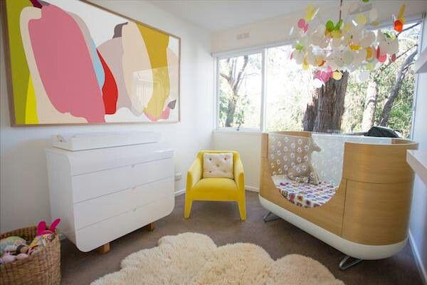 Funky Nursery Nursery Pinterest