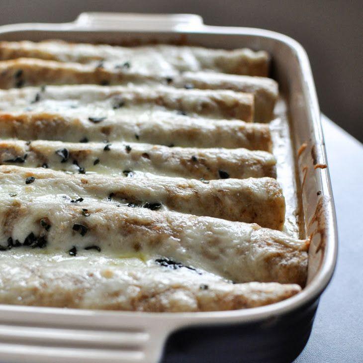 Butternut Squash Enchiladas | Meatless Meals | Pinterest