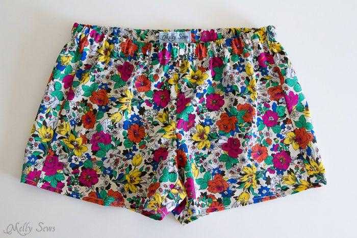 Сшить женские шорты на резинке своими руками
