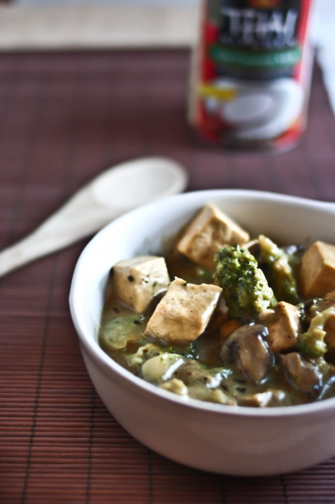coconut curry tofu | YUM | Pinterest